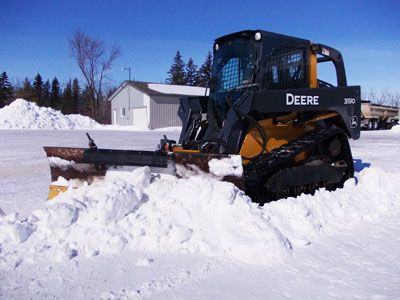 Snow removal machinery 2
