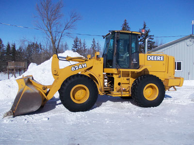 Snow removal machinery 1